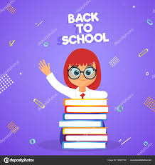 School Poster Designs Back School Poster Oder Banner Design Stockvektor Alliesinteract