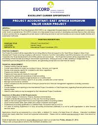 Project Accountant Kenya By Eucord Communications Issuu