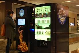 Beverly Hills Caviar Vending Machine