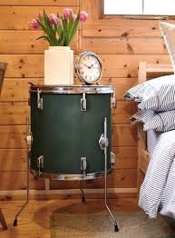 drum furniture. GALLERY - Rock Terrace Gorgeous Upcycled Drum Kit Furniture