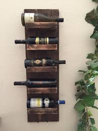 Rack, Rustic Wine Rack Diy Ideas: Unique Rustic Wine Rack Design ...