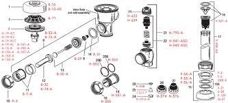 Sloan Valve Regal Xl Flush Valve Repair Parts