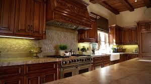 Close up of rustic Italian style kitchen