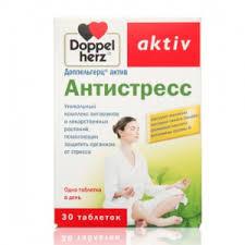 <b>Антистресс</b>, Доппельгерц <b>Актив</b>, <b>30</b> таблеток - купить, цена на ...