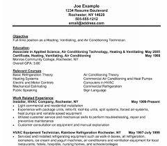 Hvac Installer Resume - Kleo.beachfix.co