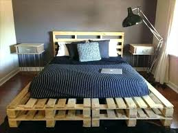 king size pallet bed queen size pallet bed view in gallery build a queen size bed frame