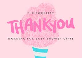 Baby Thankyou Baby Shower Thank You Notes Free Wording Examples