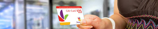 gift card in hand
