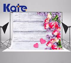 Kate White Board Backgrounds For Photo Studio Romantic Roses Photography Backdrops  Valentine's Day Photography Studio Background