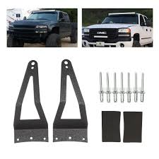F350 Light Bar Roof Mount Us 15 11 15 Off Liplasting 52 Led Light Bar Roof Mounting Brackets For 1999 2015 Ford F250 F350 F450 2017 New In Car Light Accessories From