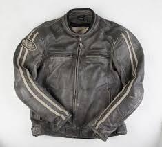 detour biker leather jacket retro brown 8008 cairoamani com