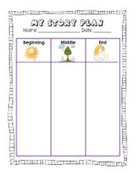 Story Template Beginning Middle End Free Sample Beginning Middle End Printable 62 Page Book