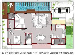duplex house plan for 60 x 40 plot size houzone free house plans south indian style