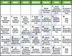 ne edge raffle calendar