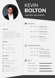 Merchandiser Resume Merchandiser Resume and CV Template in Illustrator Templatenet 93