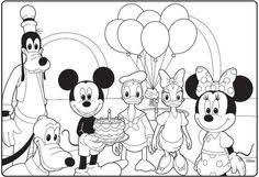 Still, that's not the case with disney icon, mickey mouse. Mickey Mouse Birthday Printable Coloring Pages Best Happy Birthday Wishes