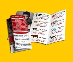 youthyouth builder sample flyers ngo or charity brochure designs on behance