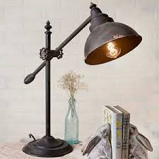 industrial chic lighting. Adjustable Swing-Arm Task Lamp Industrial Chic Lighting R