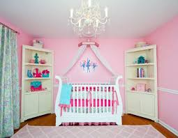 pink babyroom which one is the best baby nursery chandelier to select baby room design idea