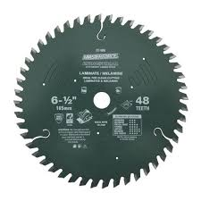 masterforce 6 1 2 x 48 tooth laminate circular saw blade