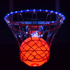 Basketball Hoop Led Light Ultra Bright Led Basketball With Glow In The Dark Led Rim