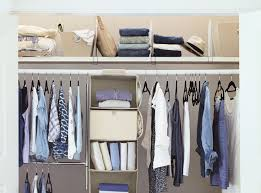 your closet organized in 5 steps