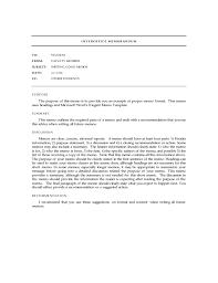 Standard Interoffice Memo Template Free Download