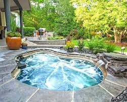 inground pools with waterfalls and hot tubs. Inground Pool With Waterfall Hot Tub Kits Swimming Rock Waterfalls . Pools And Tubs
