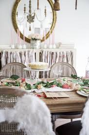Table Setting In French Home Style Saturdays Week In Review Shabbyfufu
