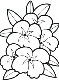 Free Printable Flower Coloring Pages For Kids Best Download