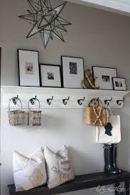 Wall Coat Rack With Storage 100 Welcoming Rustic Entryway Decorating Ideas That Every Guest Will 31