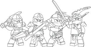 Lego Ninjago Colouring Pages To Print At Getcoloringscom Free