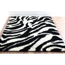 thick plush area rugs black and ivory zebra animal print super rug large soft furniture fixtures account type