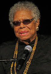 a angelou angelou at york college in 2013
