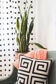 diy teen room decor ideas for girls no paint black and white diy curtains