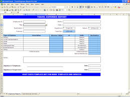 expenses report excel travel expenses report excel templates