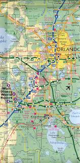 central florida road map