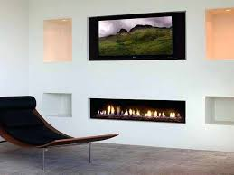 mounting a tv above a gas fireplace modern fireplaces gas with white wall mounting lcd tv