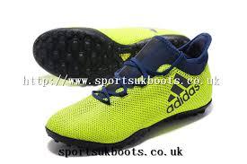 adidas x 17 3. adidas x 17.3 tf football shoes volt dark blue uk 17 3 t