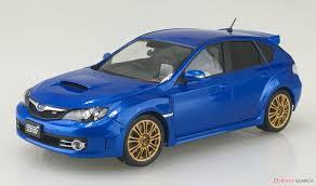 GRB Impreza WRX STI 5door `07 (WR Blue Mica) (Model Car) Images List