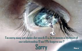 i m sorry 3d hd with sad smily face wallpaper wallpapers