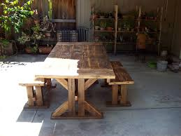 stylish wood patio dining set outdoor decor suggestion wooden outdoor dining table plans wood floor water damage