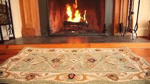 hand tufted fire resistant scalloped wool mclean hearth rug sku unique wool hearth rugs uk