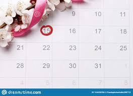 Pregnancy Day By Day Chart Planning Of Pregnancy Calendar Trying To Have Baby Stock