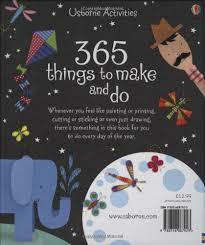 365 things to make and do usborne activities art ideas amazon co uk fiona watt 8601404208577 books