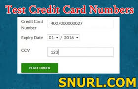 2019 Card Credit Gemescool Numbers org With Valid Cvv