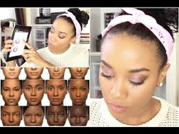 Iman Makeup Color Chart Foundation Matching For Women Of Color Iman Beauty App