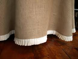 Burlap Round Table Overlays The Best Of Burlap Tablecloth Ideas New Home Designs