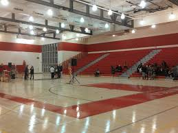 high school gym. First Look At The New Gym Mills High School Patch
