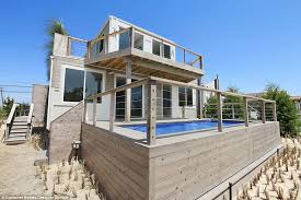 container home designer. this beach house by container homes designer domain made of shipping containers can be built for home
